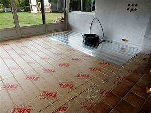 plancher chauffant veranda With parquet pour plancher chauffant basse température