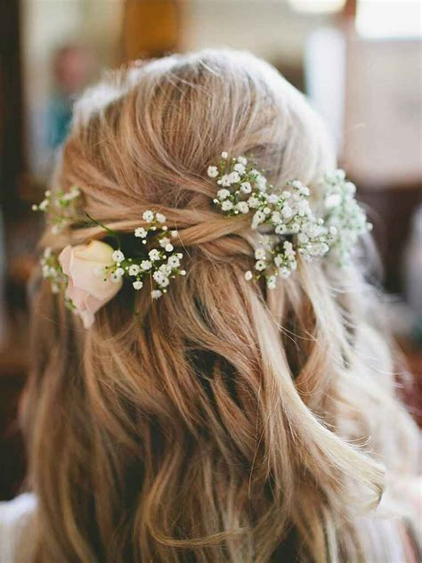 perfectly messy bridesmaids hairstyles