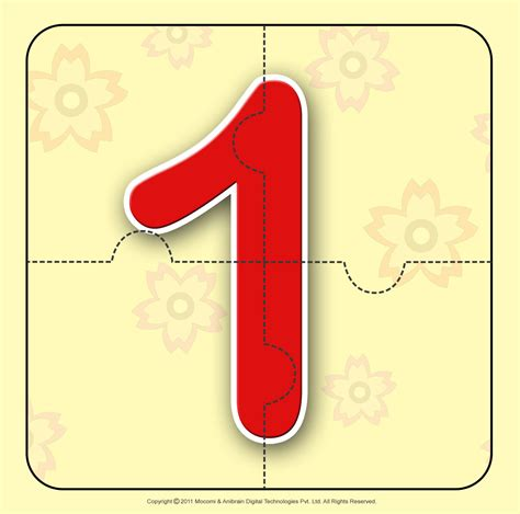 number   number jigzaw puzzles  kids mocomi