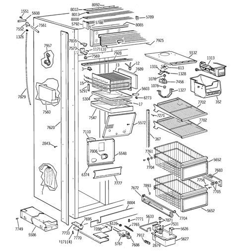 ge refrigerator water  diagram wire diagram