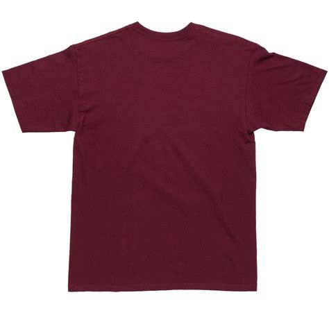 bohnam spell pocket t shirt burgundy