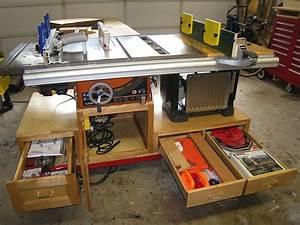 Planer Workstations, Wood Work, Woodshop Ideas
