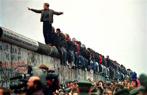 Ll Keep Coming Standing To Universal The Berlin Wall 19 Years Gone