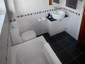 bathroom tile ideas black and white With black and white bathroom tile design ideas