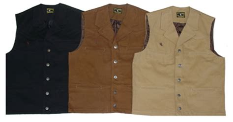 Wt-bv100 Bronco Canvas Vest