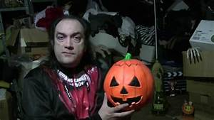 Mask Fan Attic: 2012 Don Post Pumpkin - YouTube