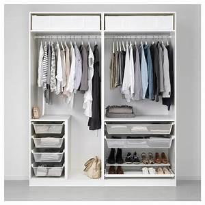 Ikea Pax Grimo : pax wardrobe white grimo white 200x60x236 cm ikea ~ Orissabook.com Haus und Dekorationen