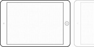 Preview of the iPad mini template | UX Sketch stuff ...