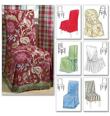 mccalls pattern  chair cover essentials jaycotts