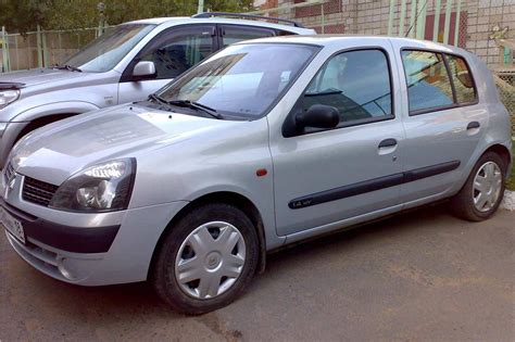 Renault Clio 2002 by 2002 Renault Clio Pictures 1400cc Gasoline Ff Manual