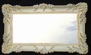 Barock Spiegel Groß : barock wandspiegel wei gold spiegel antik 97x57 gro ebay ~ Whattoseeinmadrid.com Haus und Dekorationen