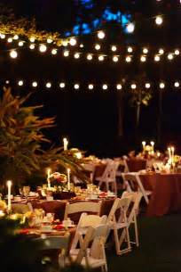 your wedding support let there be light fairy lights candles wedding