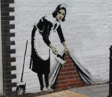 Bristol Banksy Graffiti Art