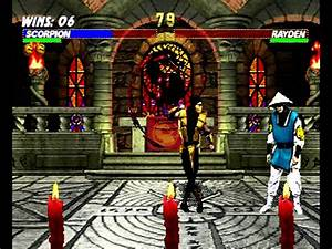 Mortal Kombat Trilogy (Sega Saturn) Arcade as Scorpion ...