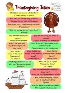 thanksgiving jokes printable for