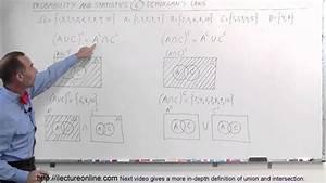 Probability  U0026 Statistics  6 Of 62  De Morgan U0026 39 S Law