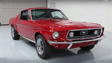 68 Ford Mustang by Mesmerizing 1968 Ford Mustang Gt 390 Fastback S Code