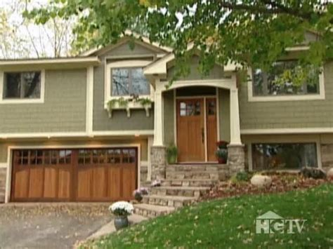 raised ranch makeovers exterior home makeover split