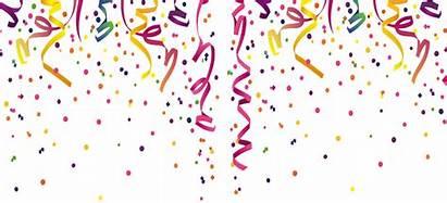 Celebration Confetti Background Clipart Vector Celebrating Transparent