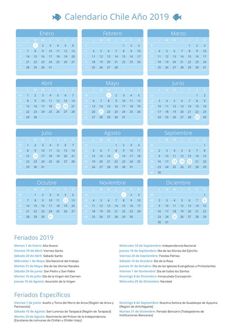 feriados chile calendario