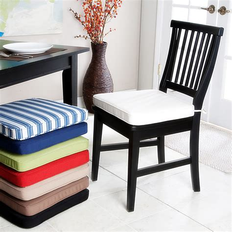 stunning dining room chair cushions with ties gallery