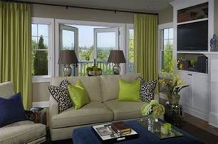 green livingroom green blue living room design with gray walls paint color door green curtains