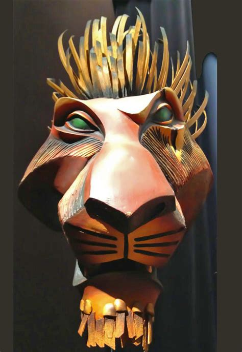 Scar's mask from The Lion King – Masks of the World