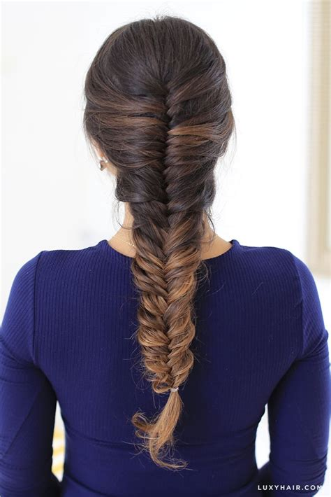 How To: French Fishtail Braid Hair Tutorial Fishtail