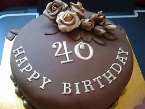 You have to see chocolate birthday cake by Mrs BonBon!