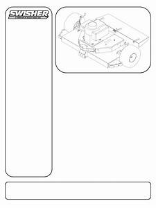 Download Swisher Lawn Mower T10544b Manual And User Guides