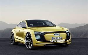 Audi E Tron Gt : production bound audi e tron gt will look a lot like this ~ Medecine-chirurgie-esthetiques.com Avis de Voitures