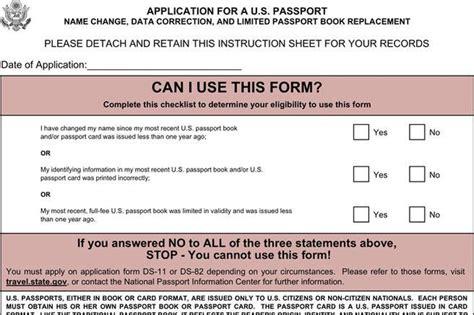 3 passport form free download