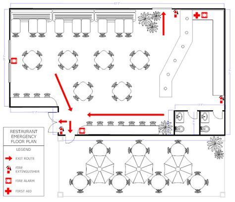 Make A Floorplan Restaurant Floor Plan How To Create A Restaurant Floor Plan