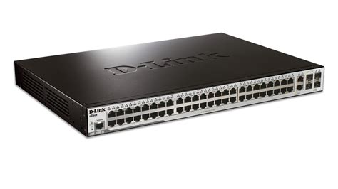 48 port fast ethernet managed l2 switch with 2 gigabit sfp ports and 2 gigabit combo base t sfp