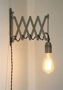 Lampe Industrial Style : lampe accord on industrielle applique murale design luminaires par carte blanche chambre ~ Markanthonyermac.com Haus und Dekorationen