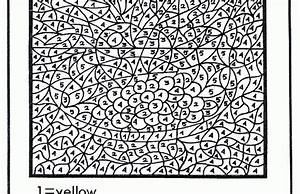 color-by-number-printables |advanced coloring pages ...