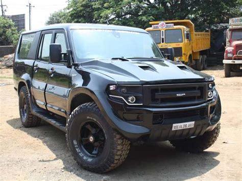Mahindra Scorpio Getaway 6x6 Offroader  Drivespark News