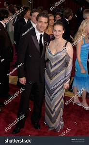 Actor Clive Owen Wife Actress Sarahjane Stock Photo ...