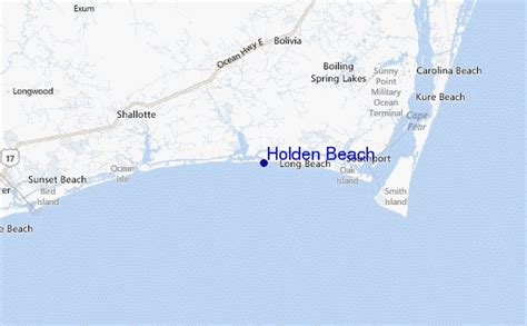 Holden Beach Surf Forecast And Surf Reports (carolina