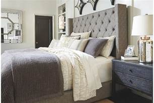 sorinella queen upholstered bed ashley furniture homestore