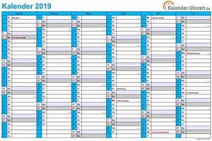 Jahreskalender 2018 2019 : kalender 2019 zum ausdrucken 5 2019 2018 calendar ~ Jslefanu.com Haus und Dekorationen