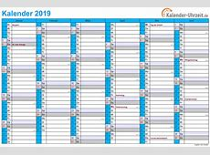 Kalender 2019 zum ausdrucken 5 2019 2018 Calendar