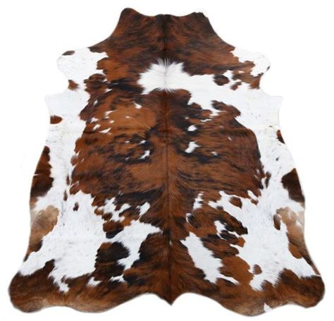 How To Cowhide by Tri Color Spotted Cowhide Rug L Cowhide Imports