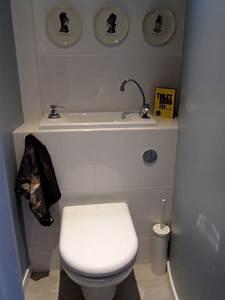 Toilettes Suspendues Grohe : wc suspendu avec lave main grohe pack grohe rapid sl ~ Edinachiropracticcenter.com Idées de Décoration