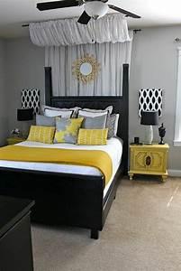 Decoration chambre gris et jaune for Deco chambre gris et jaune
