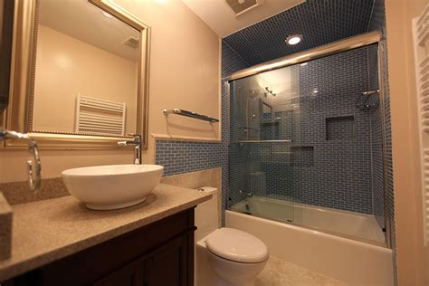 pictures of remodeled bathrooms basement remodeling services germantown rockville md dc nova surdus remodeling