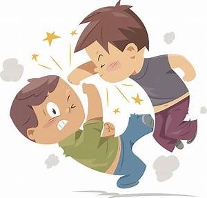 Kids Fighting Clip Art, Vector Images & Illustrations - iStock