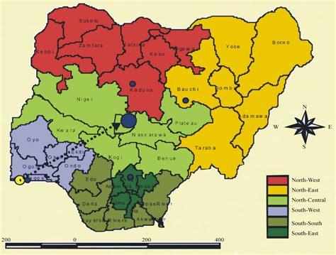 nigeria  abolish  states adopt  geo political
