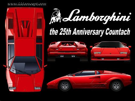 tutorialsdcom blueprints lamborghini countach aniv