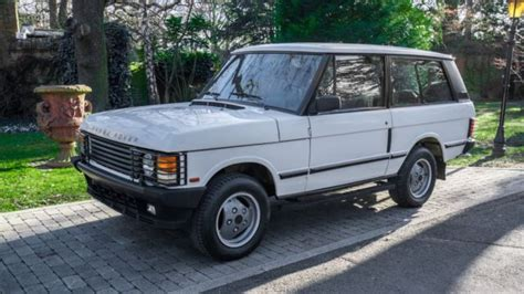 how cars engines work 1990 land rover range rover auto manual 1990 land rover range rover classic 2 door turbo diesel collector mint condition classic 1990